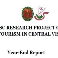 2018 Year-end CVSC Narrative Report About its CIDS-Funded Research Project on Sustainable Tourism in Central Visayas