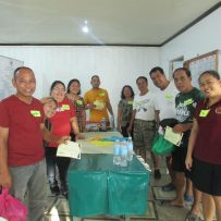 Focus Group Discussion with the locals of Brgy. Maribago
